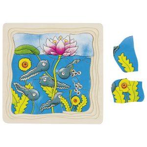 Drvene puzzle za djecu - Žabac